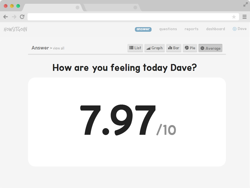HowsItGoin screenshot 3